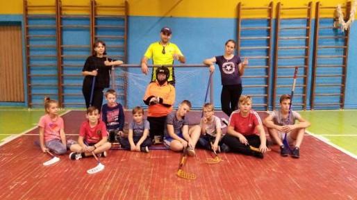 Сельцовские школьники осваивают новый вид спорта