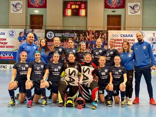 Мелитопольские флорболисты «Скалы» сыграли полуфинальную серию плей-офф
