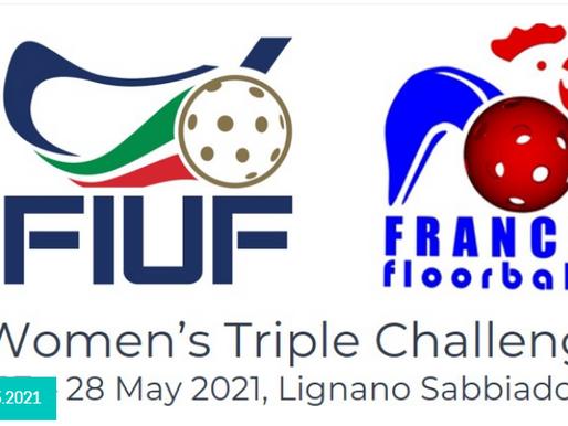 WOMEN TRIPLE CHALLENGE 2021: Интервью с главными тренерами сборных Италии и Франции
