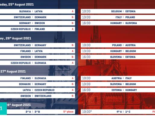 Опубликовано расписание Чемпионата мира среди юношей