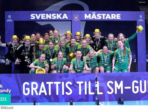 Thorengruppen IBK - новые чемпионы Швеции