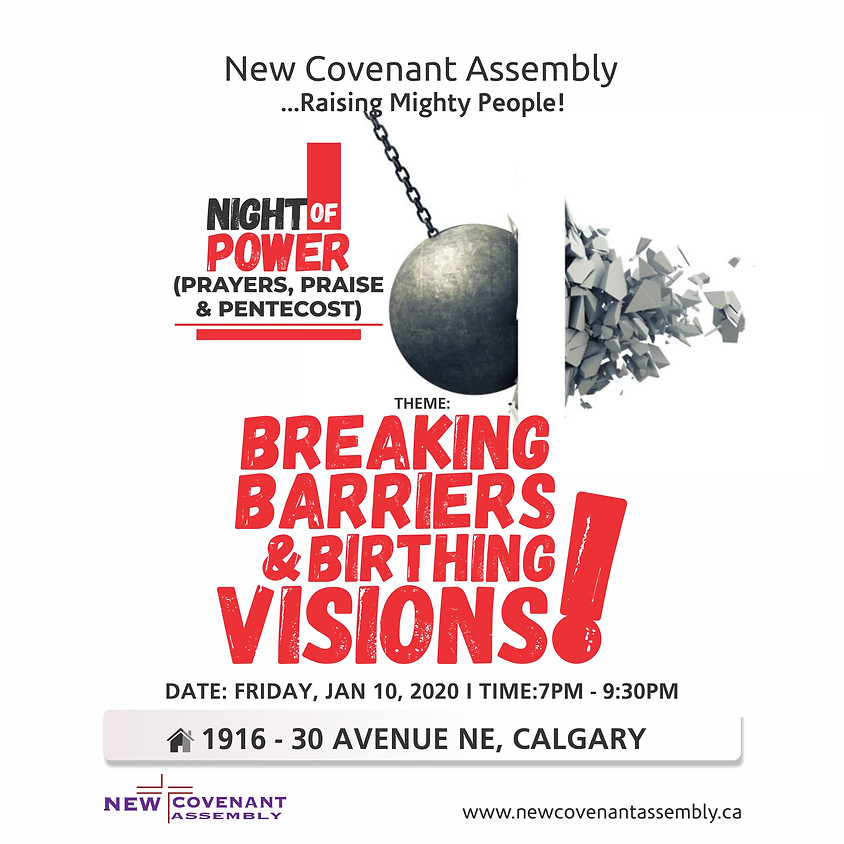 Night of Power (Prayers, Praise & Pentecost)