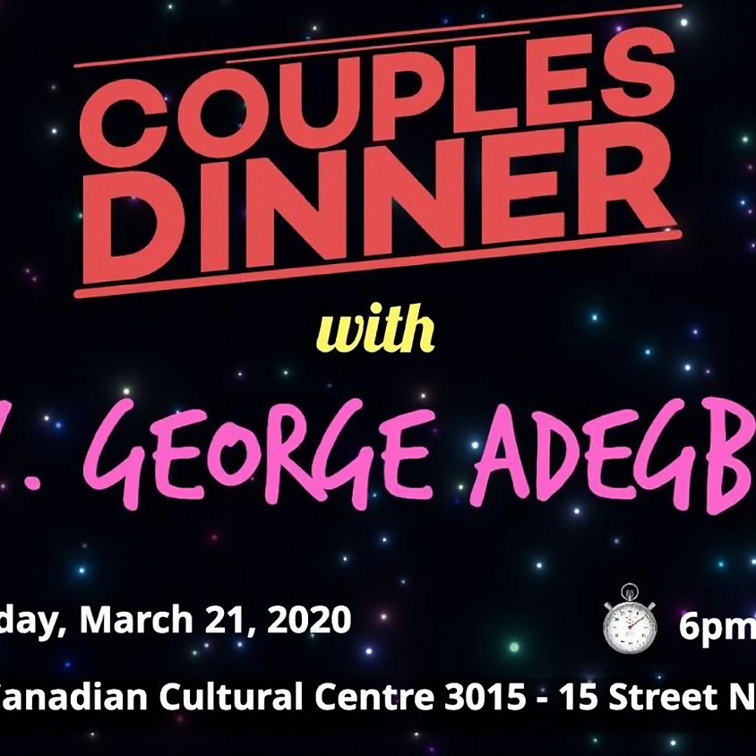 Couples Dinner with Rev. George Adegboye