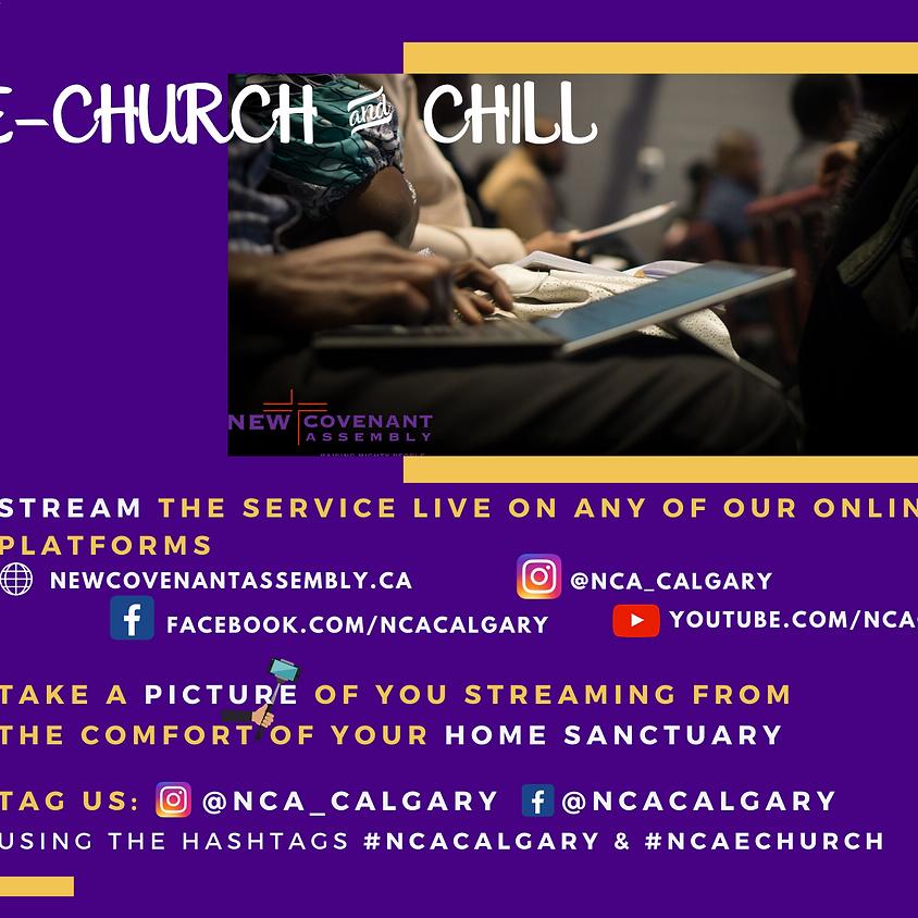 Online Friday Worship Service E-church