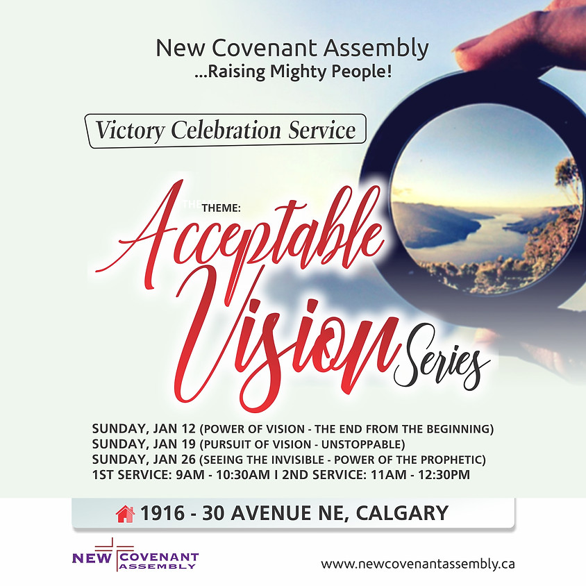 Victory Celebration Service (Acceptable Vision Series)