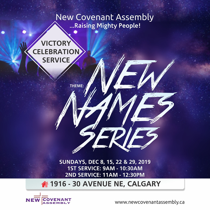 Victory Celebration Service (New Names Series)