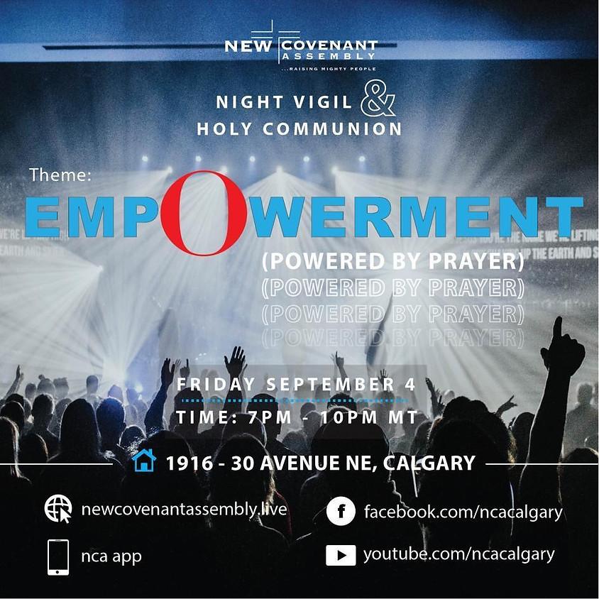Friday Night Vigil & Holy Communion Service