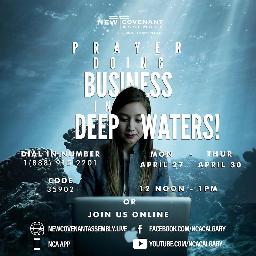Preparing for Roar - Wednesday Noon Prayers