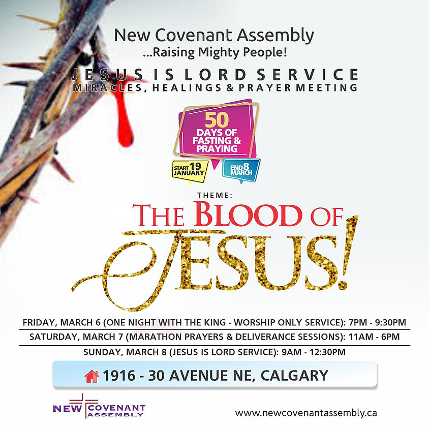 Jesus Is Lord Service