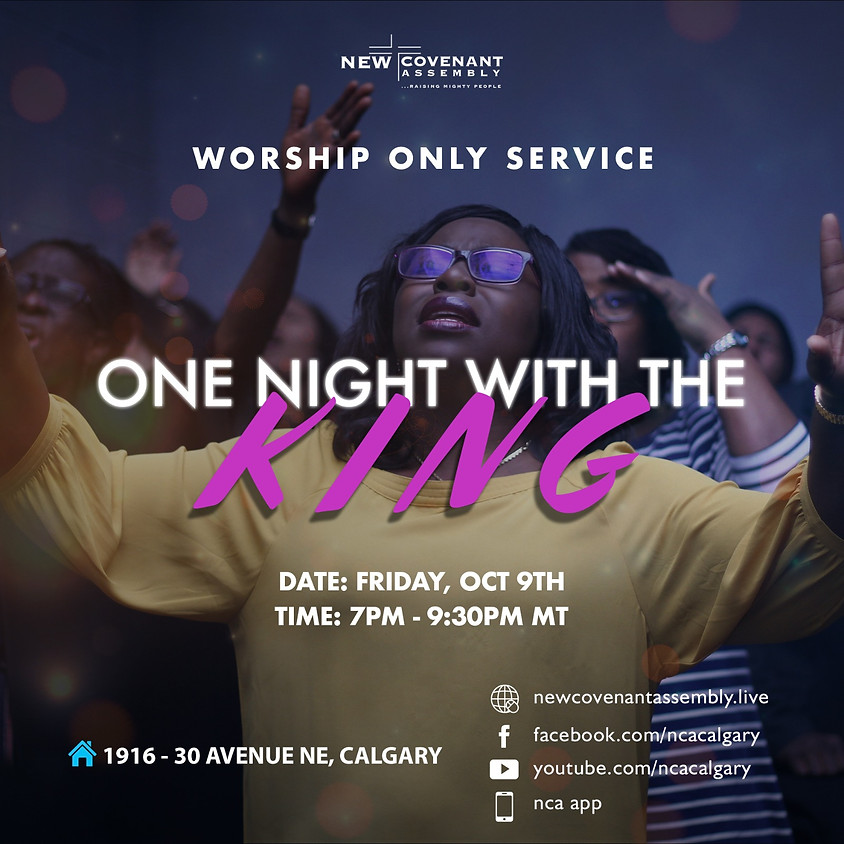 One Night With The King - Worship Only Friday Service (1)