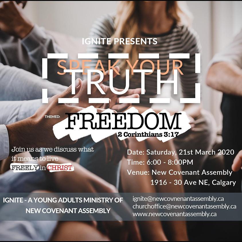 Ignite Presents: Speak Your Truth