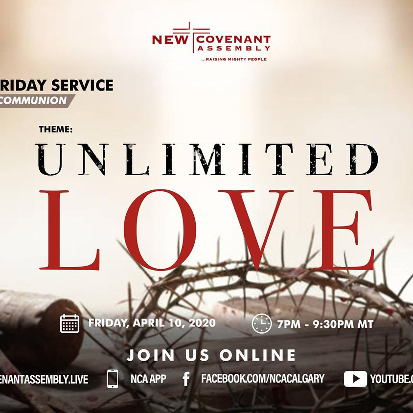 Good Friday Online Service with Holy Communion