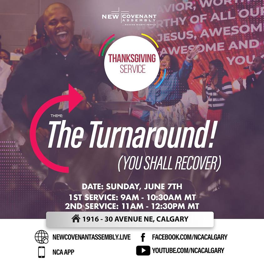 Thanksgiving Sunday Service (1st Service)
