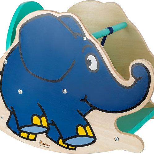 L'éléphant à bascule 10819