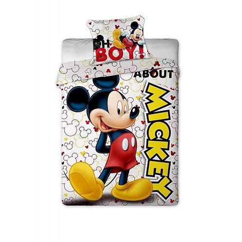 Housse de couette Mickey avec Taie d'oreiller