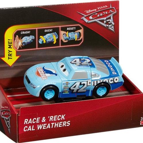 Cars 3 super choques Cal Weathers