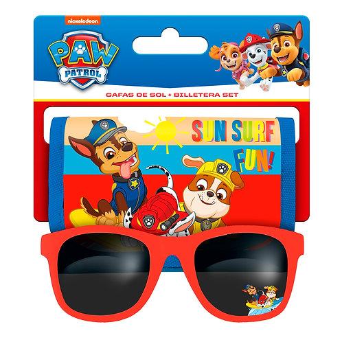 Nickelodeon portefeuille et lunettes de soleil Pat Patrouille garçons 2-pièces