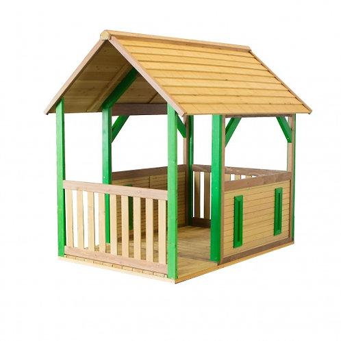 Axi maison de jeu forestière