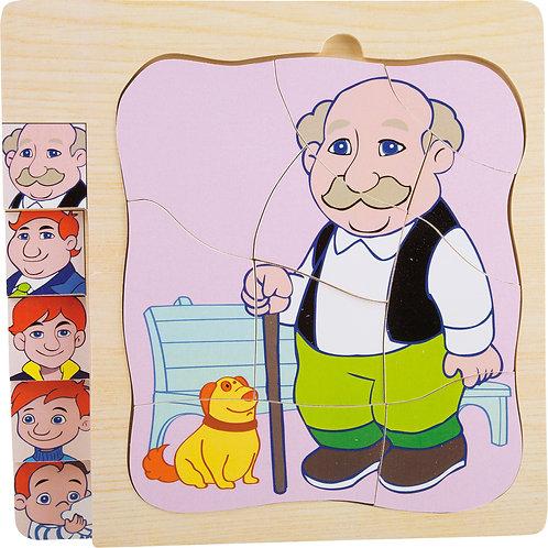 """Puzzle à étage """"la vie de Grand-père"""" 11029"""