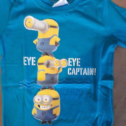 T-shirt manche courtes Minions, 100% coton