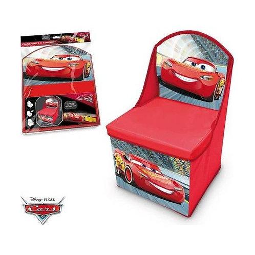 Chaise pliable avec rangement en cars Disney