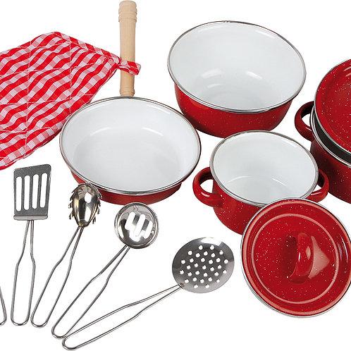 Ustensiles de cuisine rouge 8964