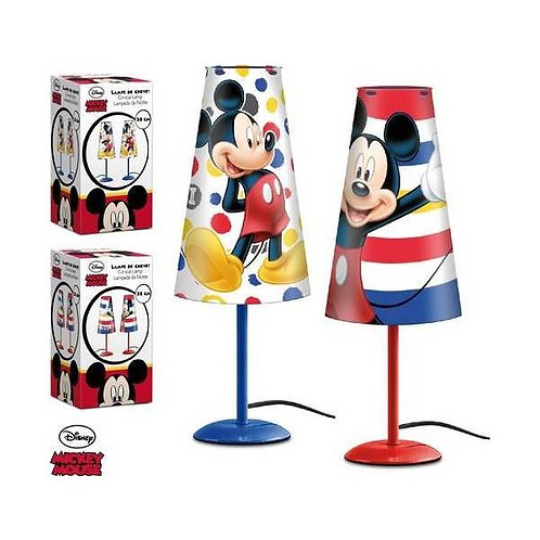 Lampe de Chevet Mickey Disney 38 cm en forme conique