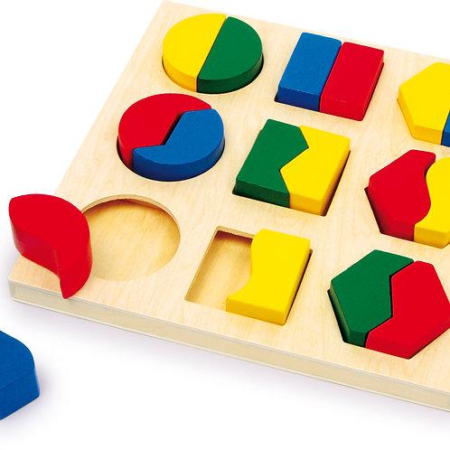 Puzzle à encastrer paires de formes 1600