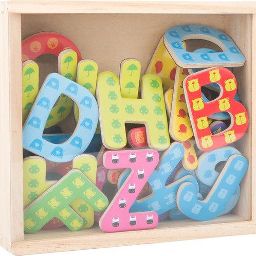 Lettres magnétiques colorées 10732