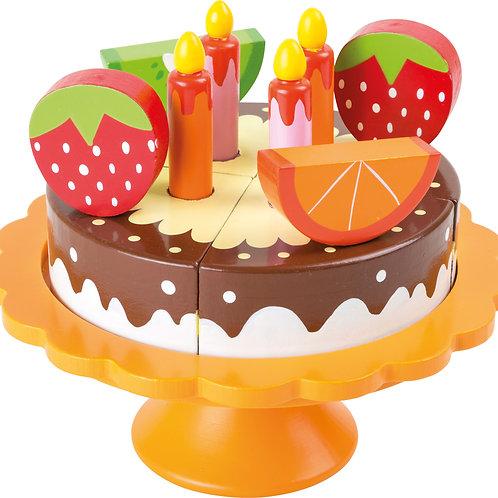 Gâteau d´anniversaire en bois 10167