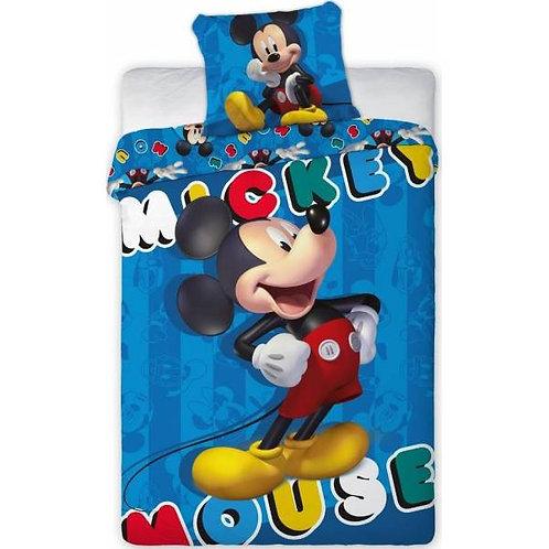 Parure de lit Mickey bleu