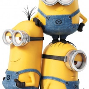 Stickers muraux universels Minions