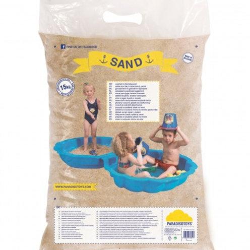 Paradiso Toys sable de jeu lavée 15 kg