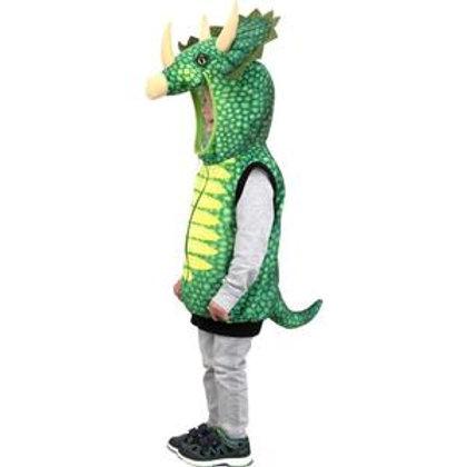 Gilet-costume Dinosaure Triceratops