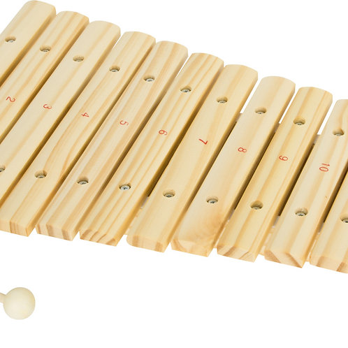 Xylophone bois naturel
