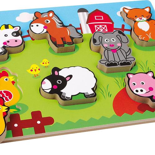 """Puzzle """"animaux de la ferme"""""""