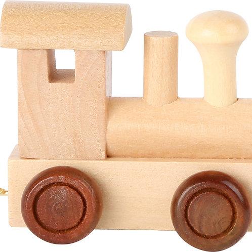 Train de lettres, locomotive