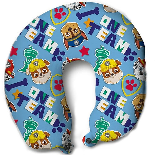 Coussin cale-nuque Nickelodeon Paw Patrol 31cm