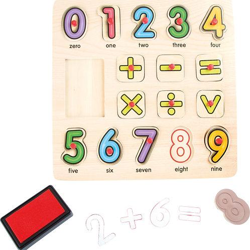 Tampons et puzzle Mathématiques 10078