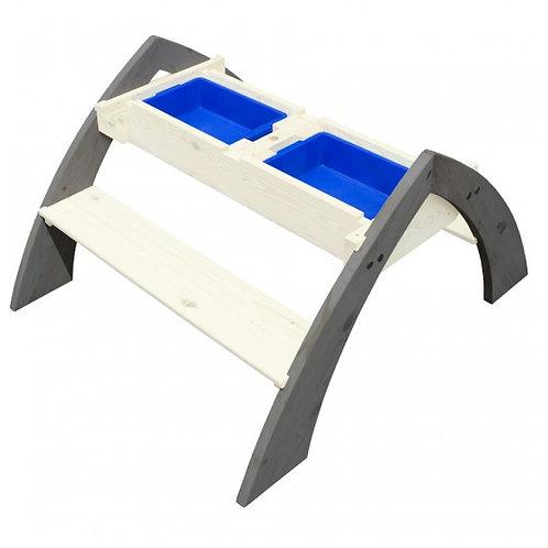 Axi Delta table pique nique, avec parasol