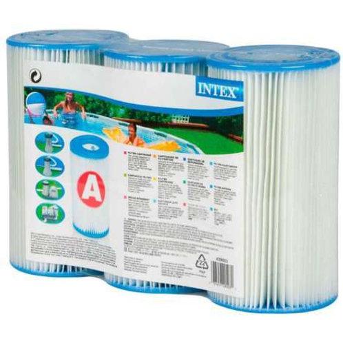 Intex Lot 3 cartouche filtrante type A
