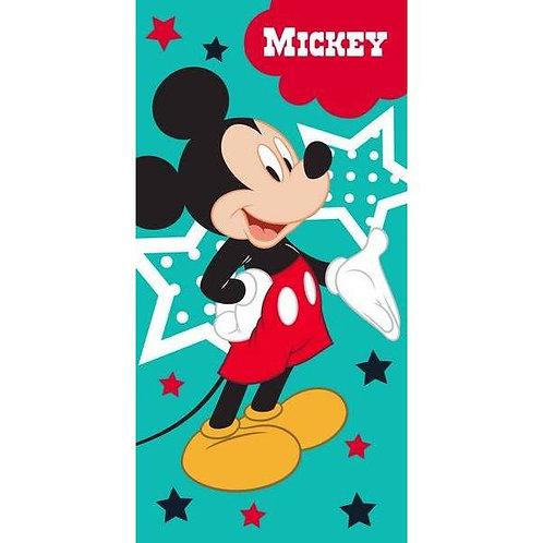 Drap de plage Mickey en coton