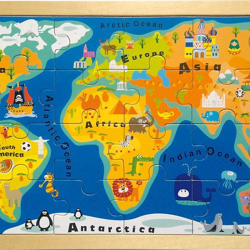 Puzzle Carte du monde 4240