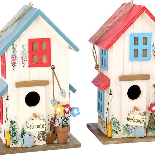 Maison pour oiseaux Villa des couleurs 6587