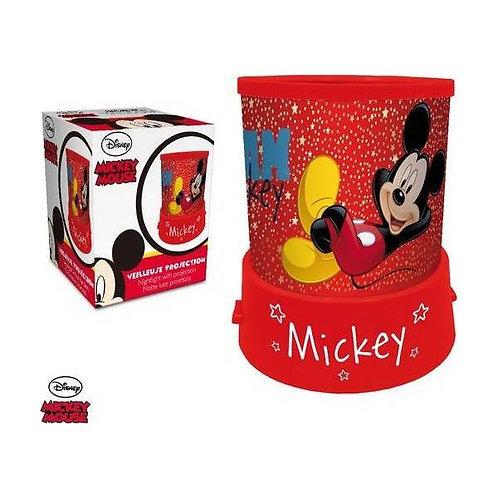 Veilleuse Projecteur Mickey Disney avec d'étoiles