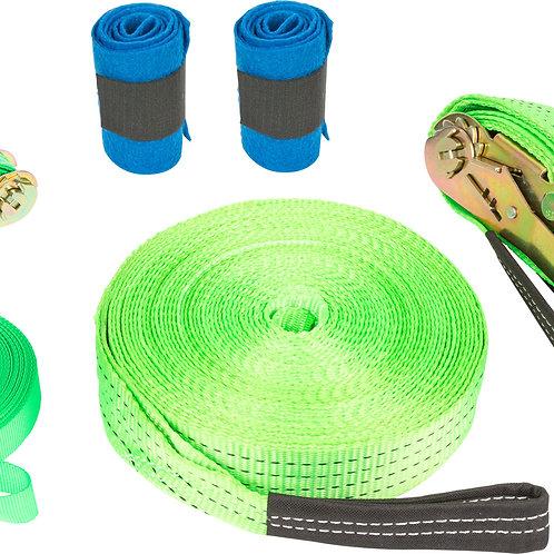 Slackline Kit protecteurs en feutre tissé inclus