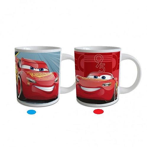 Mug Cars en céramique en boite