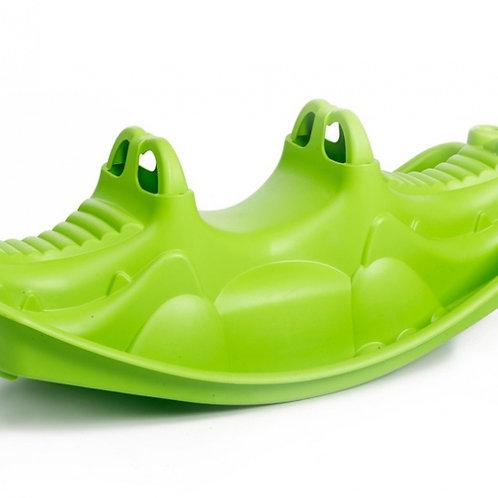 Bascule Crocodil 116 cm vert