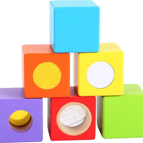 Cubes de bois Petits explorateurs 10636