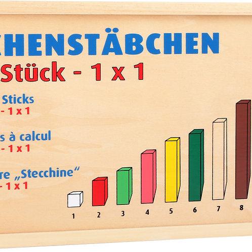 Bâtonnets de calcul type Montessori 1136